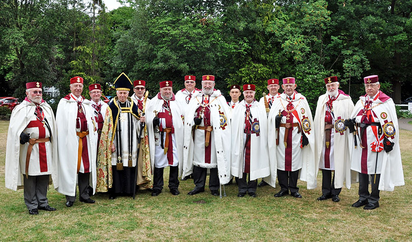 A Visit to the Provincial Priory Of Middlesex Meeting